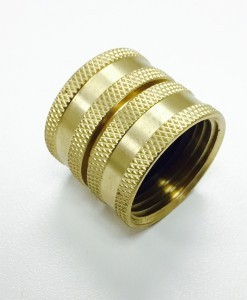 3:4 Female Hose X 3:4 Female Hose-Brass-Fitting-Cat.-No-765B008S